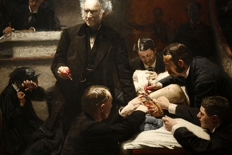 """The Gross Clinic,"" by Thomas Eakins, 1875. By zpeckler, http://www.flickr.com/photos/zpeckler/3508677341/"