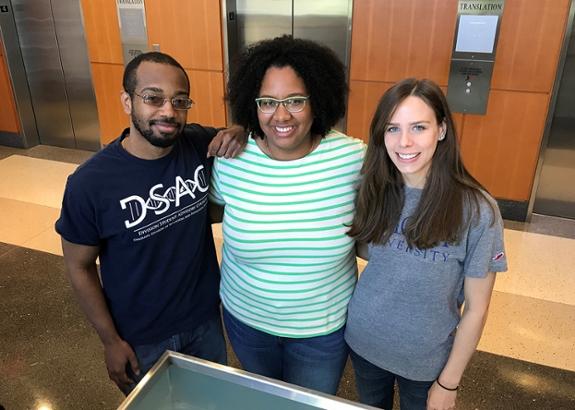 A photo of Emory University students